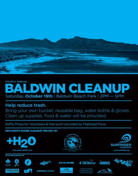 beach clean up flyer